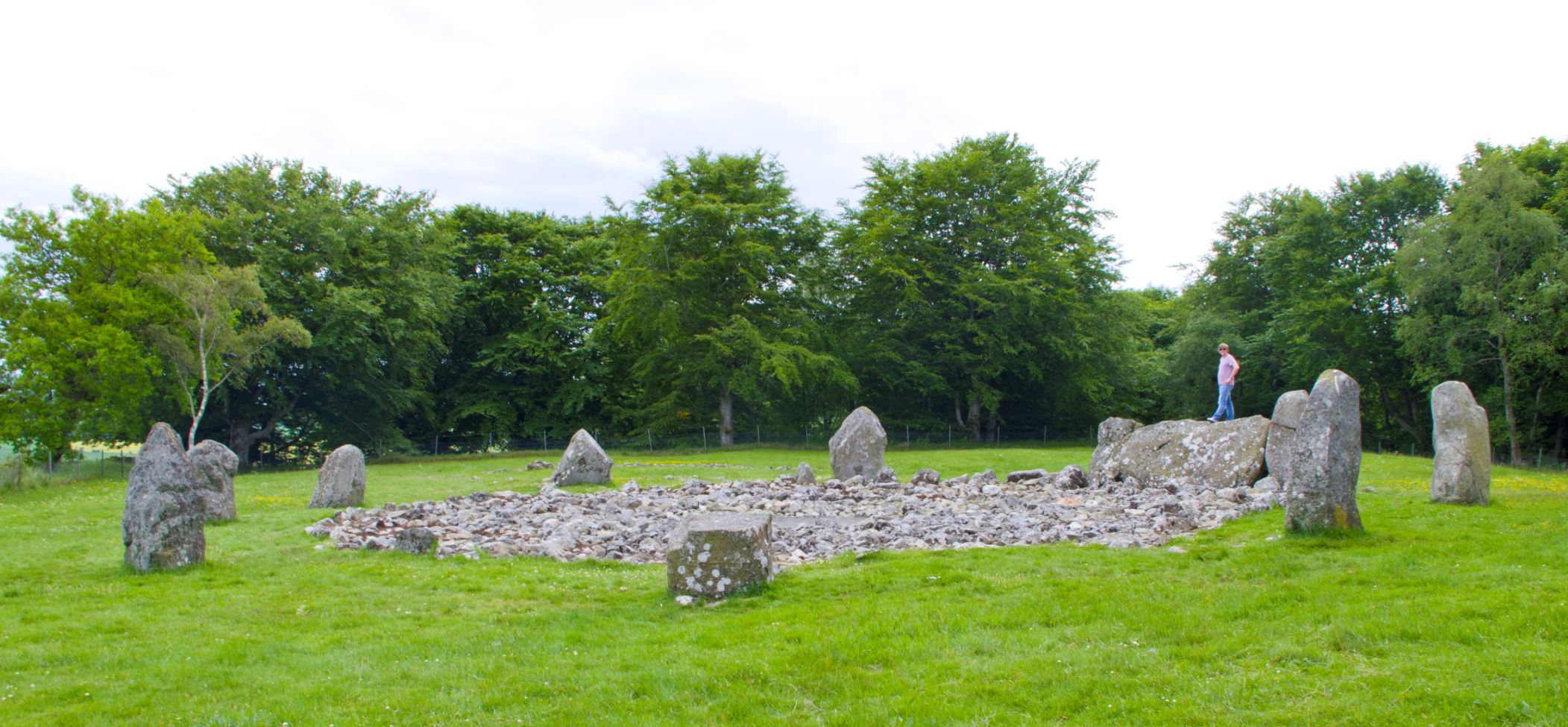 Loanhead of Daviot recumbent stone circle