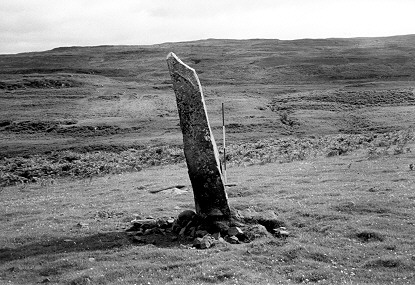 Central stone at Ardnacross - photo