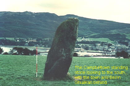 campbeltown standing stone