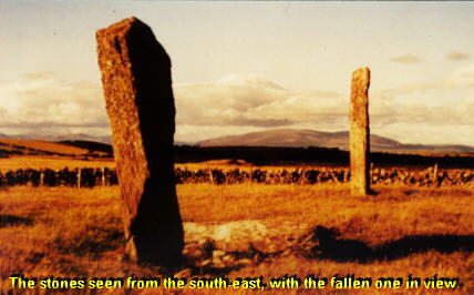 Drumtroddan standing stone alignment photo