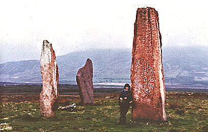 Machrie Moor stone circle 2