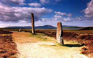 Brodgar circle and Hoy